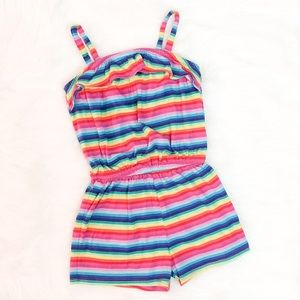 The Children's Place Rainbow Striped Romper